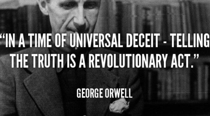 Orwell om sanningen